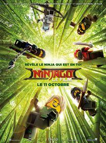 affiche-LEGO Ninjago : Le Film