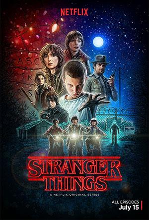 affiche-Stranger Things
