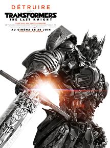 affiche-Transformers: The Last Knight