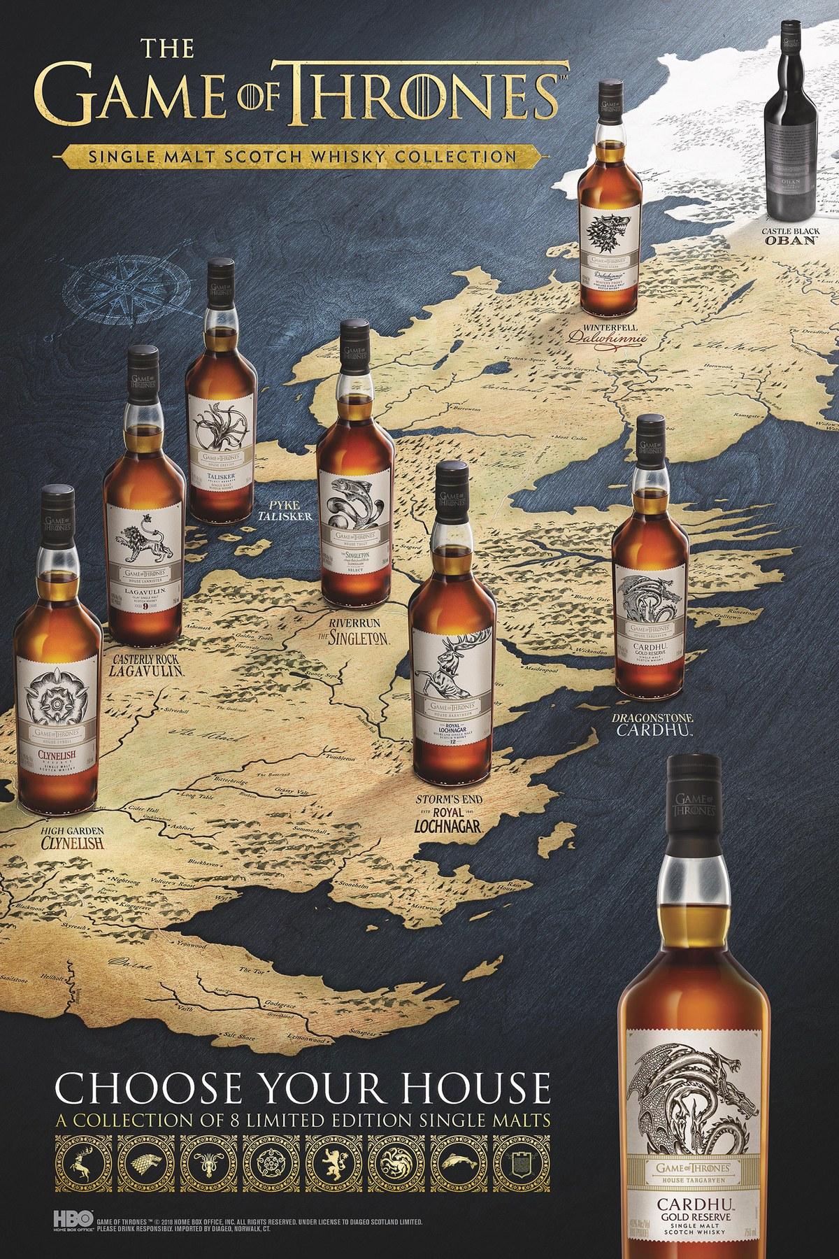 GOT whisky map johnnie walker