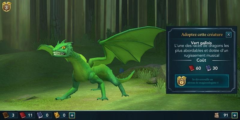 Avertgallois harry potter hogwarts mystery creatures