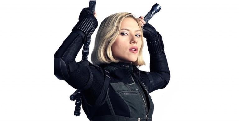 Black Widow Scarlett Johansson Avengers Endgame Marvel