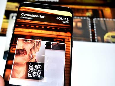 Chronicles of Crime companion application gratuite scan qr code