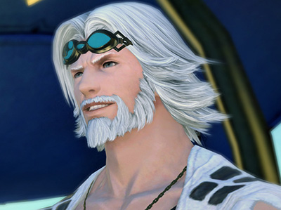 Cid in Final Fantasy XIV