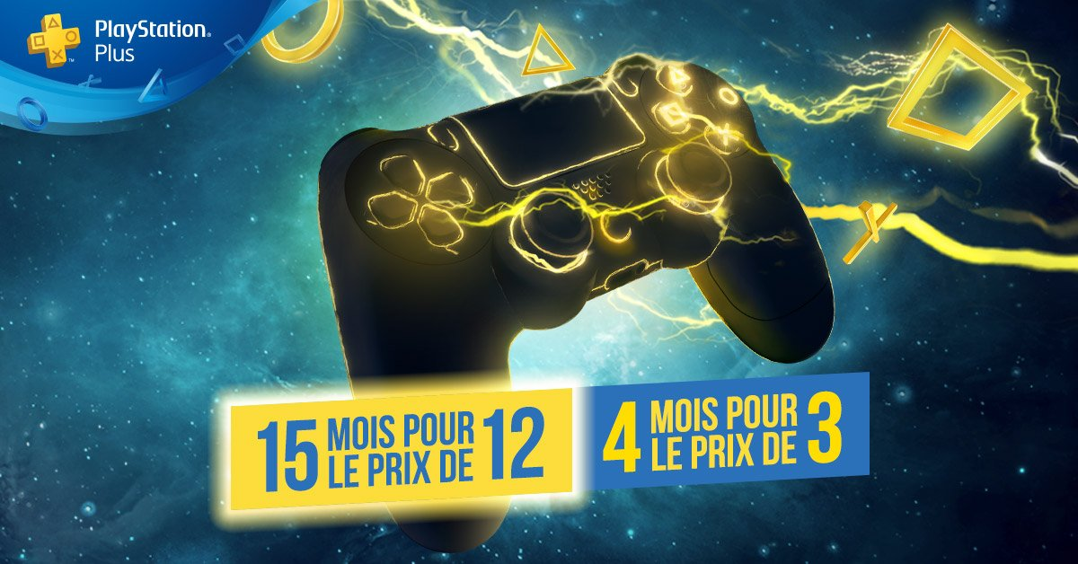 Playstation Plus réduction