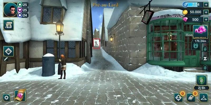 HPHM PAL astuce energie hogwarts mystery
