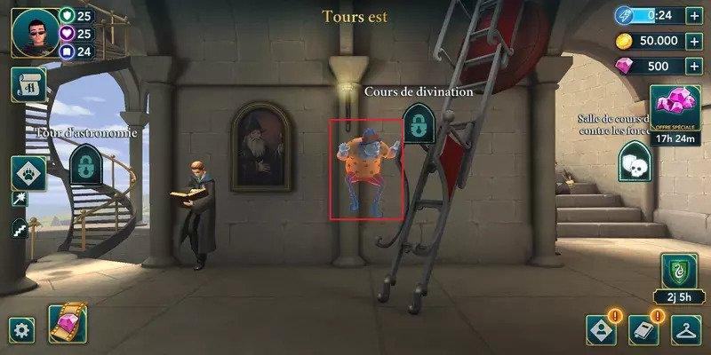 HPHM hogwarts mystery Tour est energie