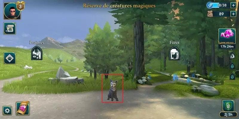 HPHM reserve creatures magiques energie