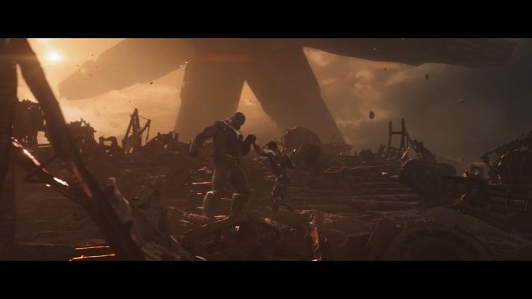 Iron man vs Thanos last fight avengers 4 endgame