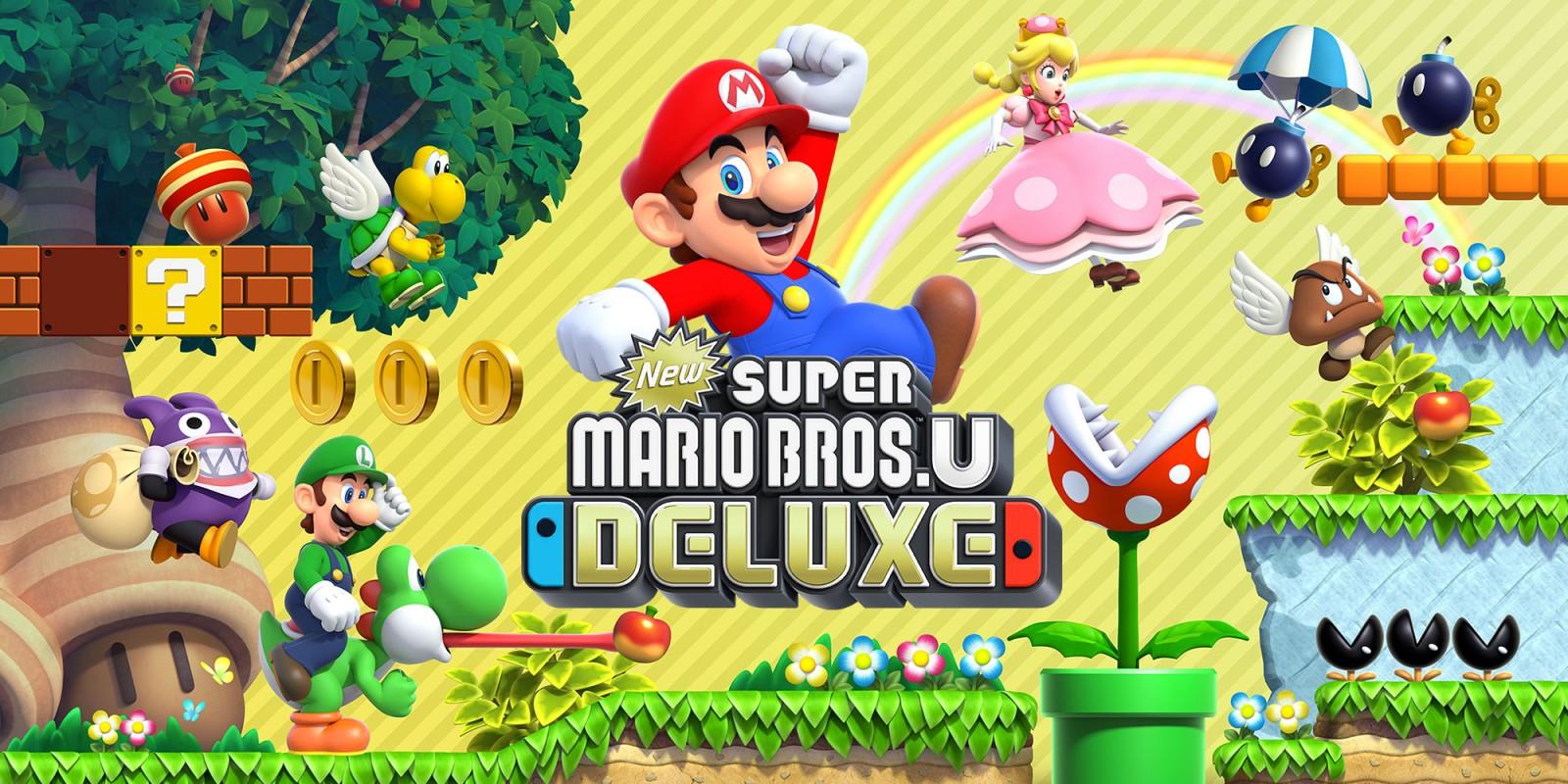 Sorties jeux janvier 2019 New Super Mario Bros U Deluxe 1