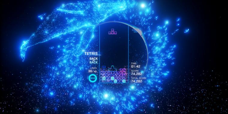 Tetris Effect Screen