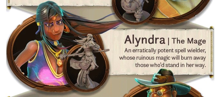 alyndra la mage valor and villainy minions perso