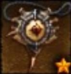 L'amulette des Flammes Infernales