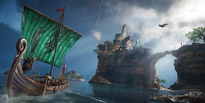 assassin's creed valhalla voyage en drakkar