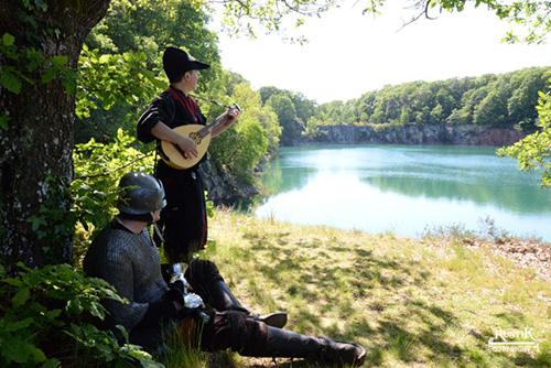 barde lac rustik parc voyage geek vallon