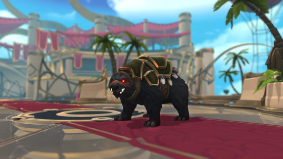 battlerite black bear mount