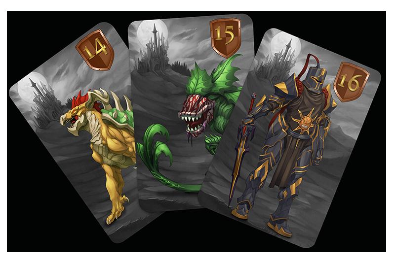 cartes boss quest jeu debacle editions