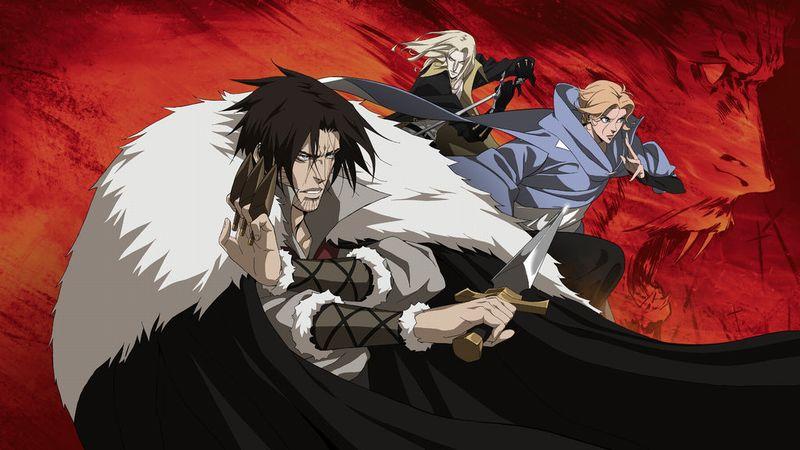 castlevania serie netflix anime