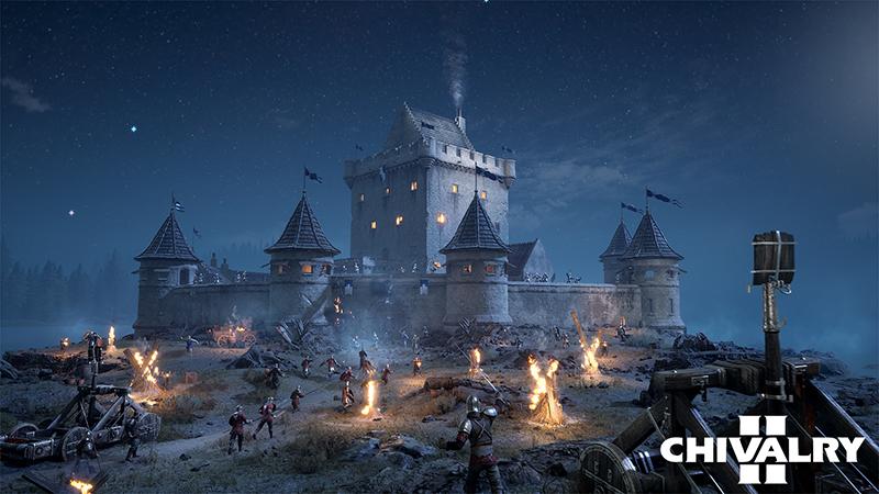 chivalry 2 siege de chateau 64 joueurs
