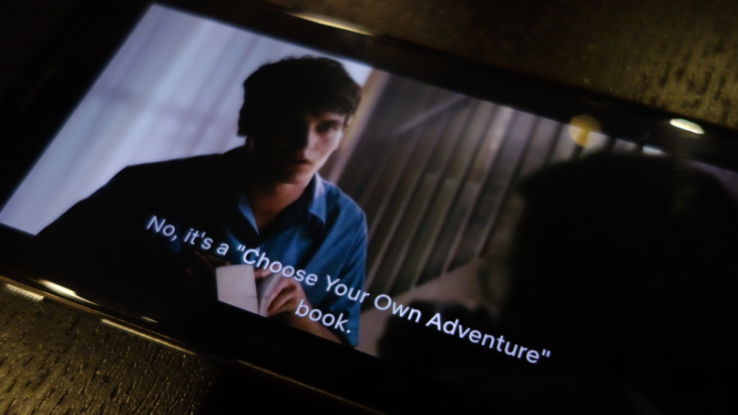 choose your own adventure proces netflix rights