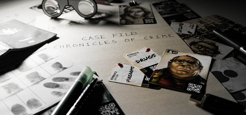 chronicles of crime enquete scenarios application recherche