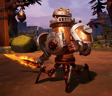 classe forge torchlight frontiers visuel