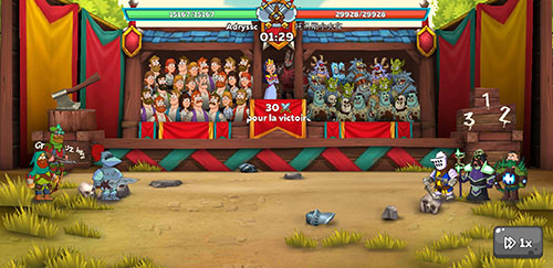 combat de tournois