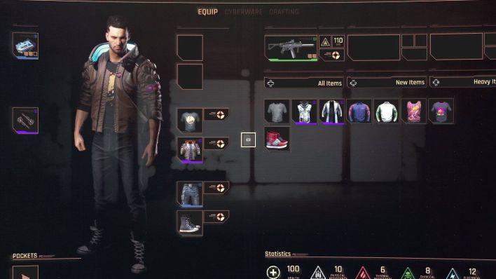 cyberpunk 2077 personnage personnalisation rpg