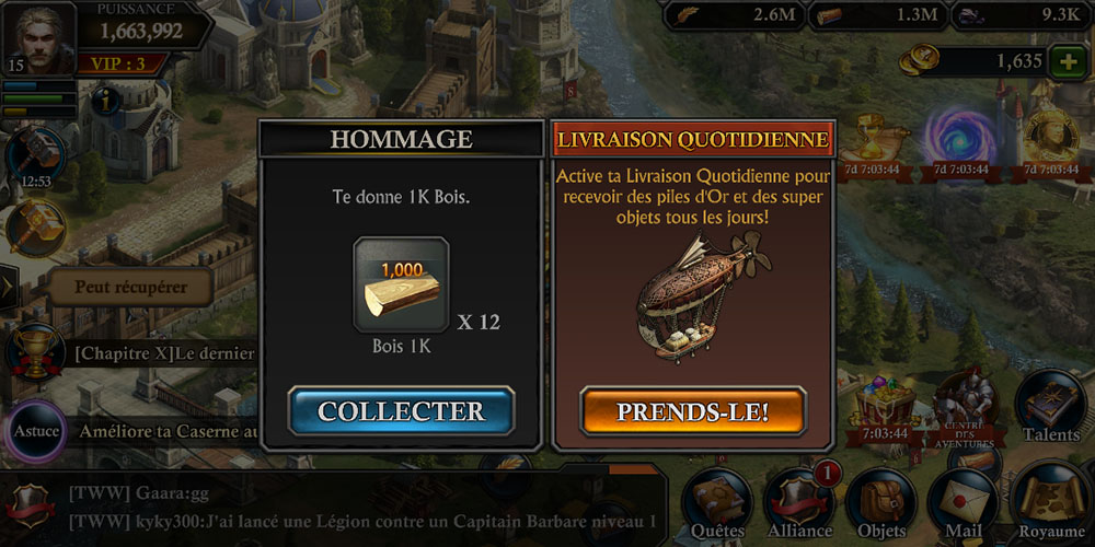 events king of avalon ressources gratuites