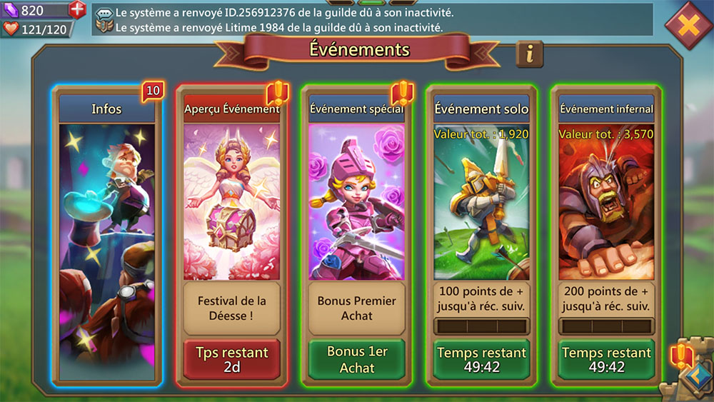 events lords mobile
