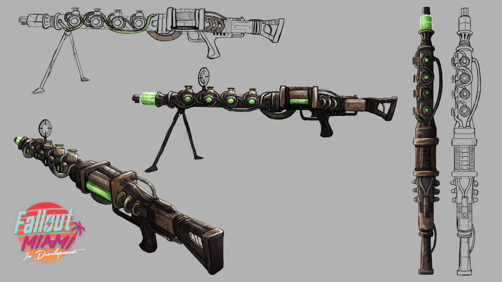 fallout 4 miami mod concept art