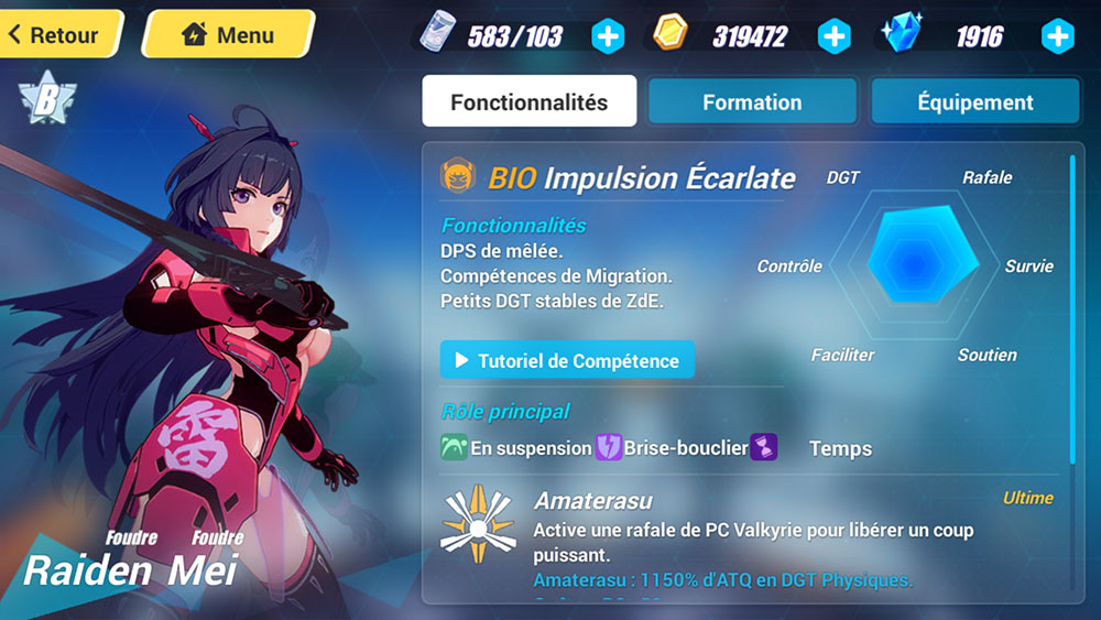 fiche personnage honkai impact 3rd