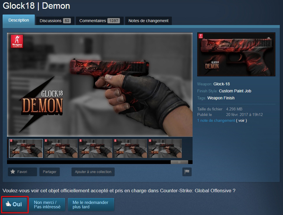 glock demon workshop csgo