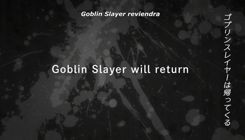 goblin slayer saison 2 annonce