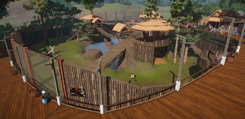habitat orang outan critique planet zoo