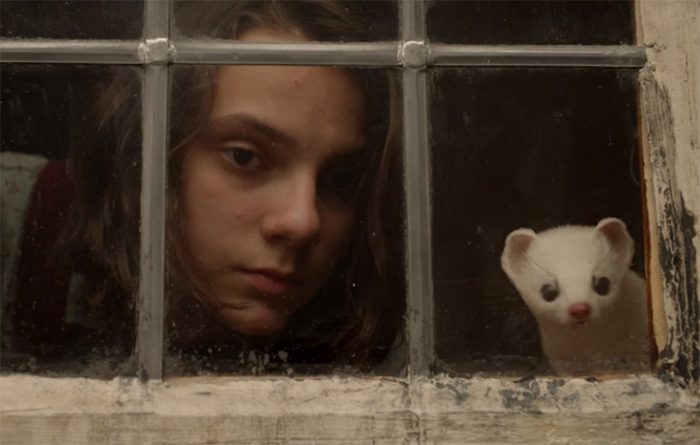 his dark materials image lyra belacqua hbo serie