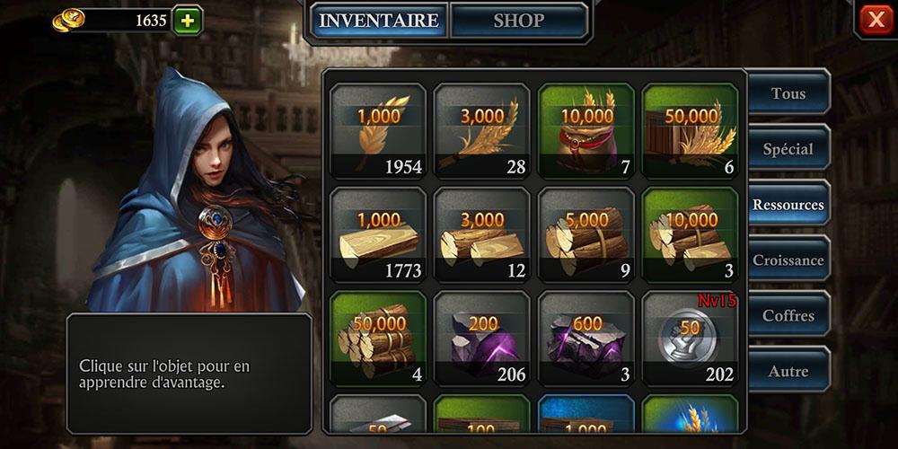 inventaire ressources koa