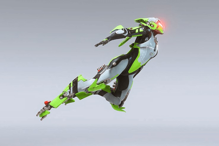 javelin vert anthem screenshot visuel freelancer