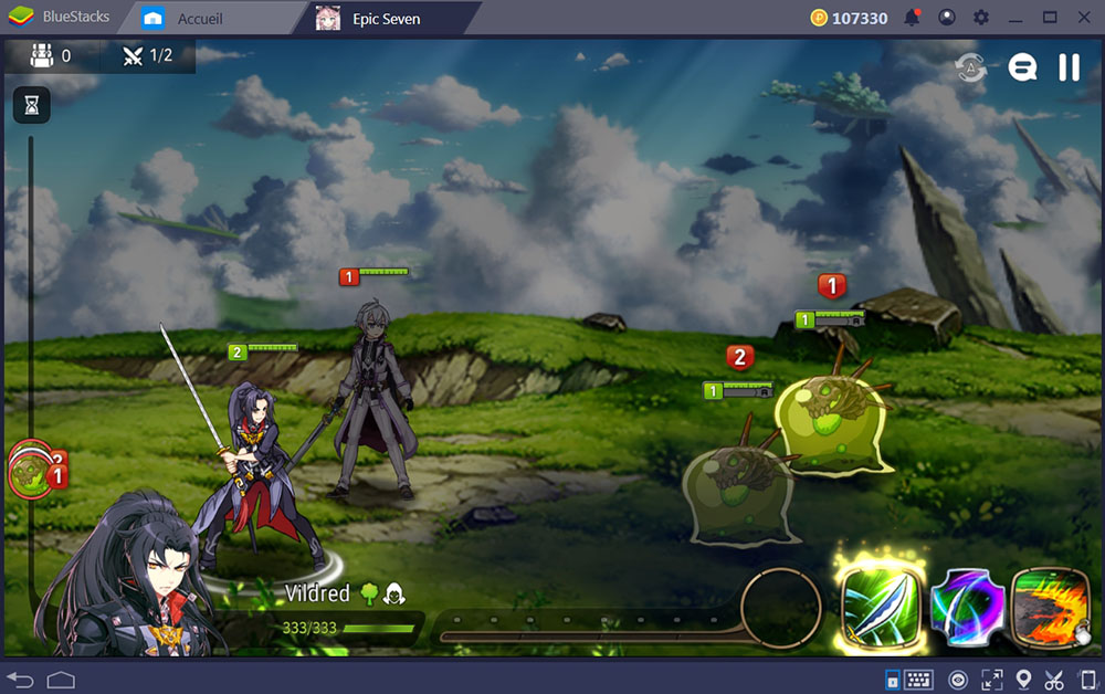 jouer à epic seven sur bluestacks