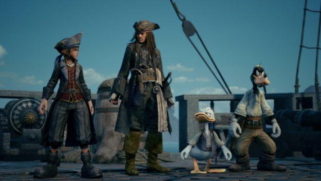 kingdom hearts 3 pirate des caraibes