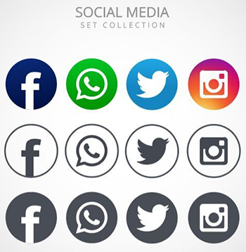 logo reseau sociaux partage icones gratuites freepik flaticon