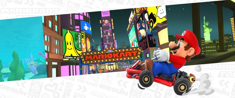 Visuel de Mario Kart Tour (site officiel)