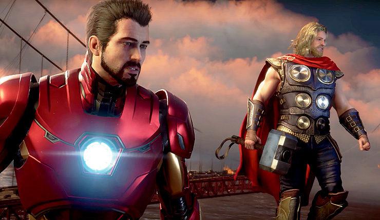 Marvel's Avengers : Thor et Tony