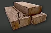 matériaux planches de bois