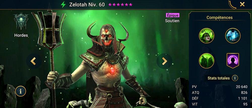 meilleur healer champion zelotah