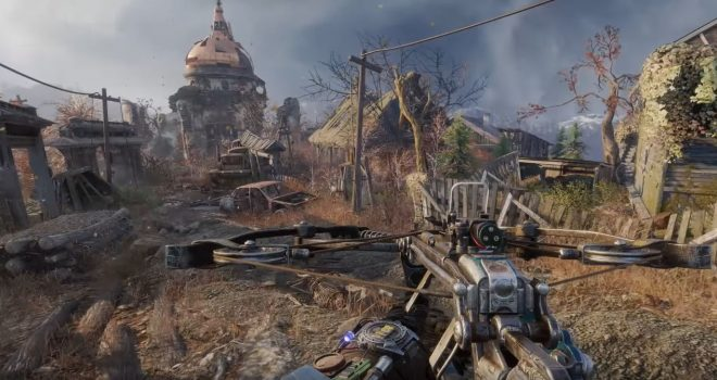 metro exodus screenshot armes captures in game