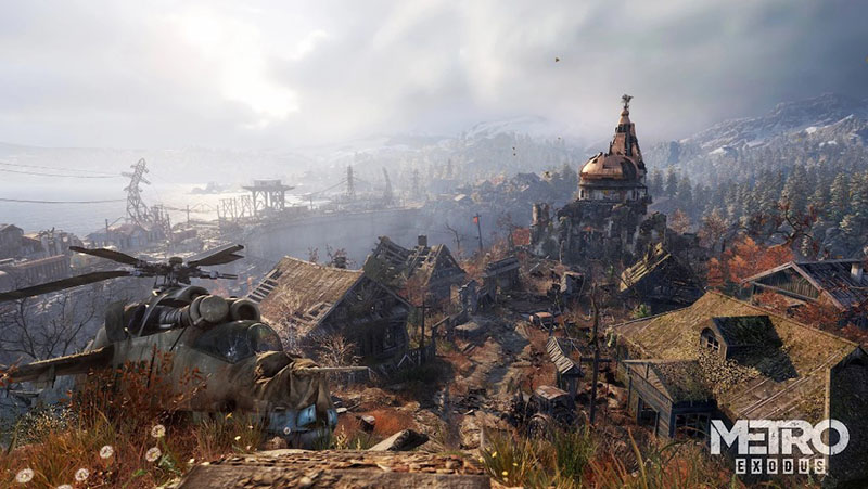metro exodus screenshot mode photo village russie