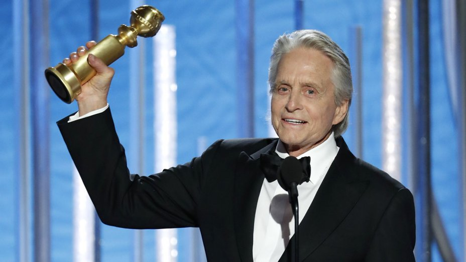 michael douglas golden globes 2019