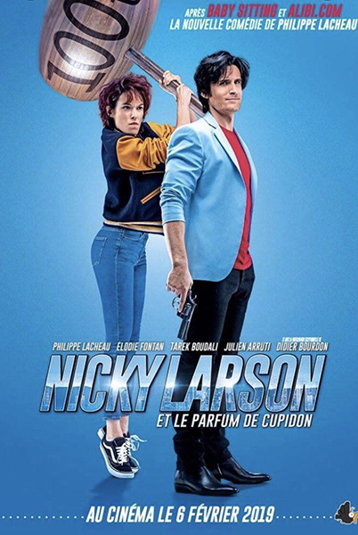 nicky larson city hunter affiche film