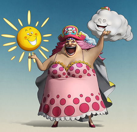 one piece pirate warriors personnage Big Mom
